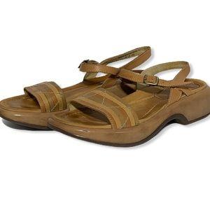Dansko Camel Color Sandals